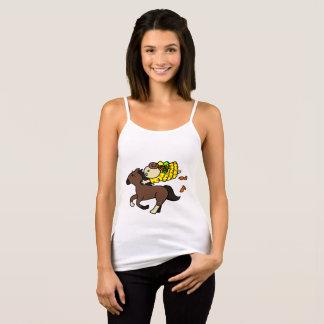 Camisole hippopotamus child it is dense brown singlet
