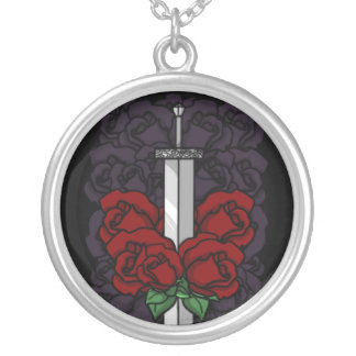 Camlann and Roses Necklace