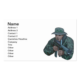Cammo Core Pack Of Standard Business Cards