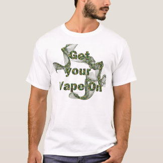 Cammo Vape on T-Shirt