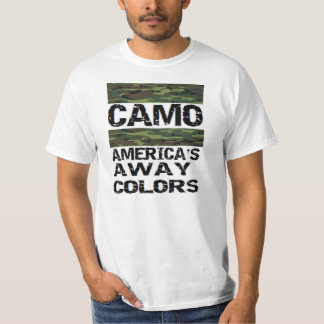 camo: america's away colors T-Shirt