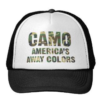 Camo America's Away Colors Trucker Hat