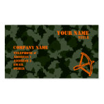 Camo Archery Pack Of Standard Business Cards