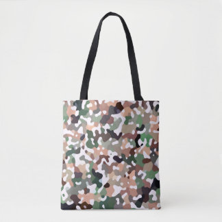 Camo Autumn Tote Bag