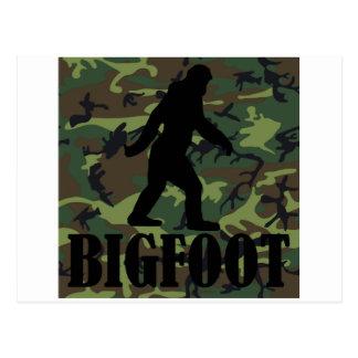 Camo Bigfoot Post Card
