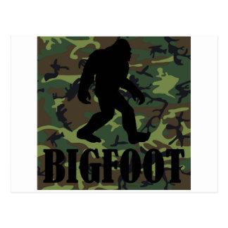 Camo Bigfoot Postcards