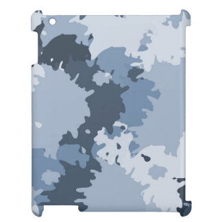Camo Blue iPad Case
