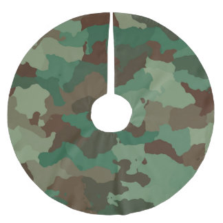 Camo Brushed Polyester Tree Skirt