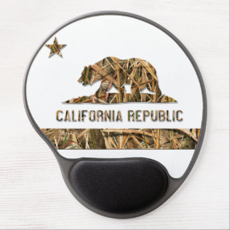 Camo California Bear Gel Mouse Pad