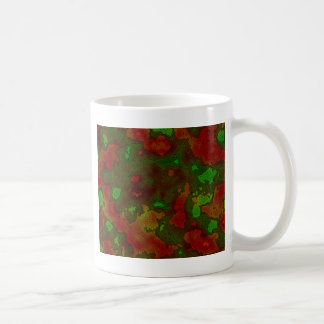 camo colour splash coffee mug