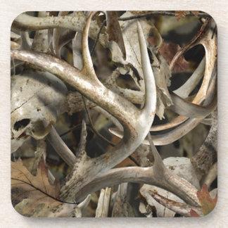 Camo Deer Skulls Coasters