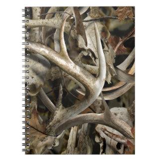 Camo Deer Skulls Spiral Notebooks