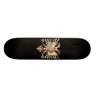 Camo Desert Albanian Eagle Skateboard Deck