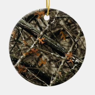 Camo Design - Camouflage Gifts Round Ceramic Decoration