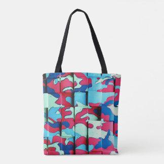 Camo Displacement Tote Bag