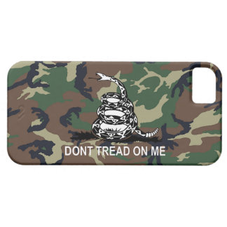 Camo Dont Tread On Me Gadsden Flag Case Camouflage