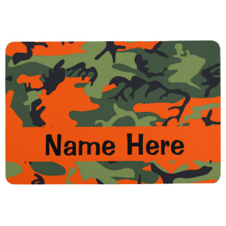 Camo Floormat - Dog Placemat - Hunting Dog Gifts Floor Mat
