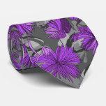 Camo Flowers Floral Tie