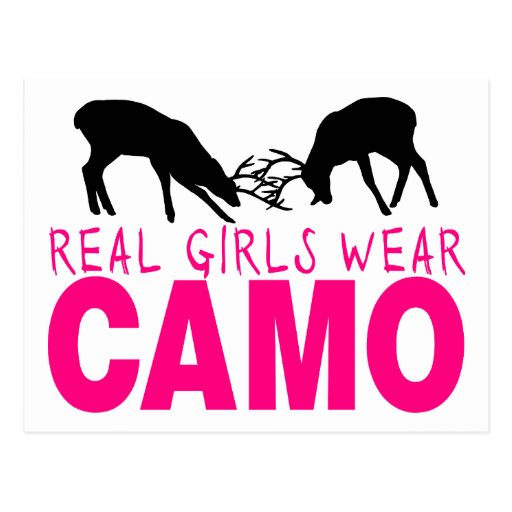 CAMO GIRL POST CARDS