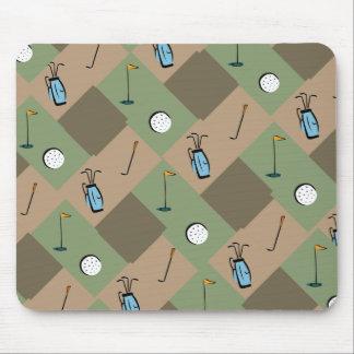 camo-golf days mouse pad
