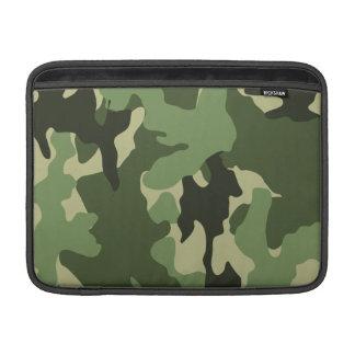 Camo Green 13 Inch Macbook Air Sleeve - Horizontal MacBook Air Sleeve