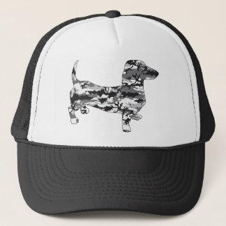Camo-Grey-Doxie Trucker Hat