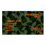 Camo Hockey Double-Sided Standard Business Cards (Pack Of 100)