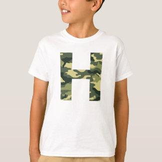 Camo Initial Shirt