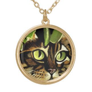 Camo Kitty Necklace