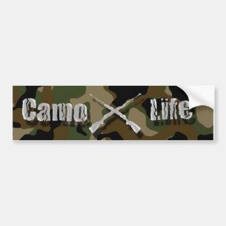 Camo Life Bumper Sticker