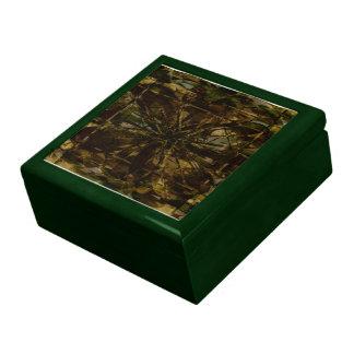 Camo Lover Petal Design Large Square Gift Box