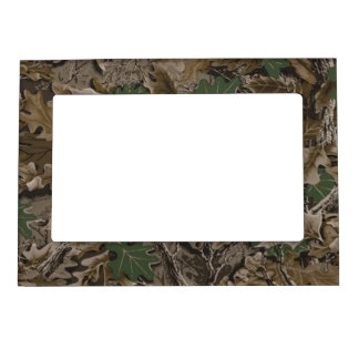 camo magnetic picture frame
