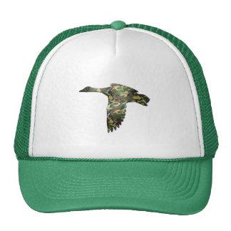 Camo - Mallard Duck in Flight Hat