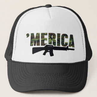 Camo 'MERICA Rifle Hat