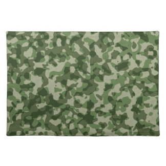 Camo Military Camouflage Pattern Placemat