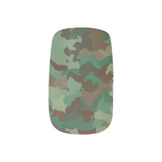 Camo Minx Nail Art