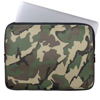 Camo Neoprene Laptop 13 inch Sleeve