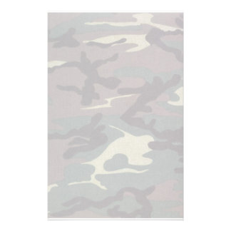 Camo No Lines Stationery