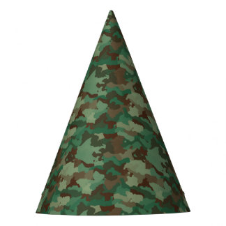 Camo Party Party Hat