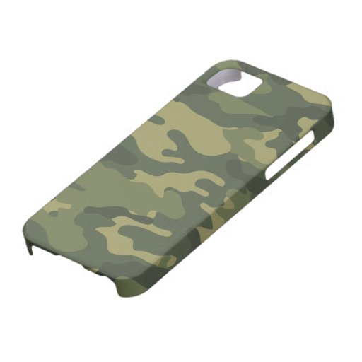 Camo Pattern for hunters or mililtary iPhone 5 Cover