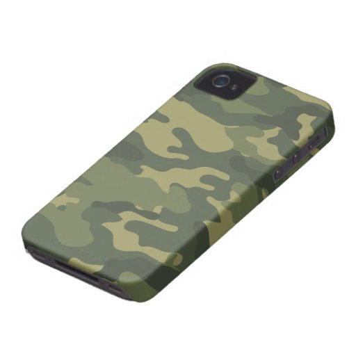Camo Pattern for hunters or mililtary Case-Mate iPhone 4 Case