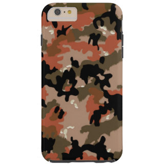 Camo pattern iPhone 6 Plus Tough case