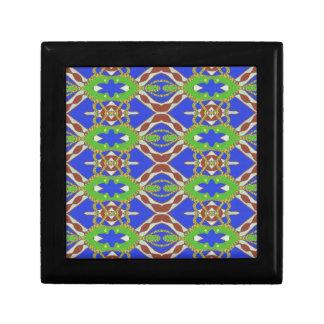 Camo Pattern Small Square Gift Box