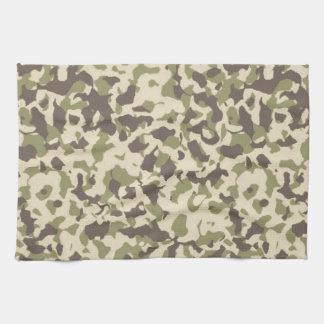 Camo Pattern Tea Towel