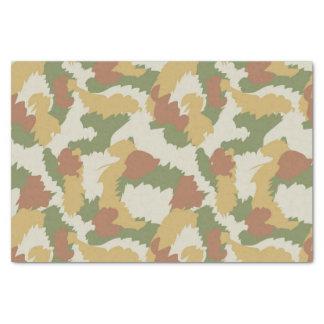 Camo pattern tissue paper