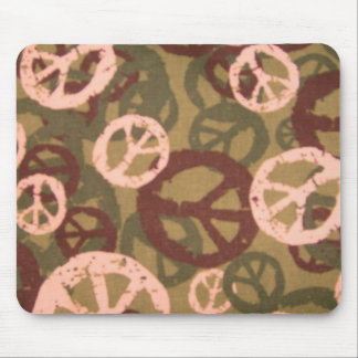 Camo,Peace Signs Mousepad