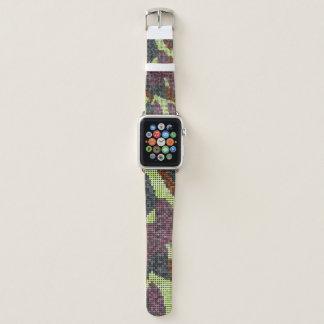 camo pixels 5 apple watch band