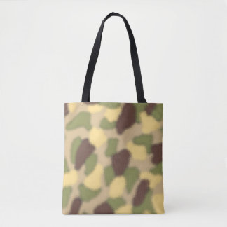 Camo Ripple Tote Bag