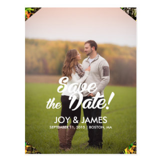 Camo Save the Date Personalized Announcement Postcard
