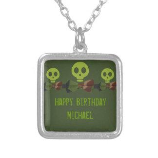 Camo Skeleton Birthday Jewelry